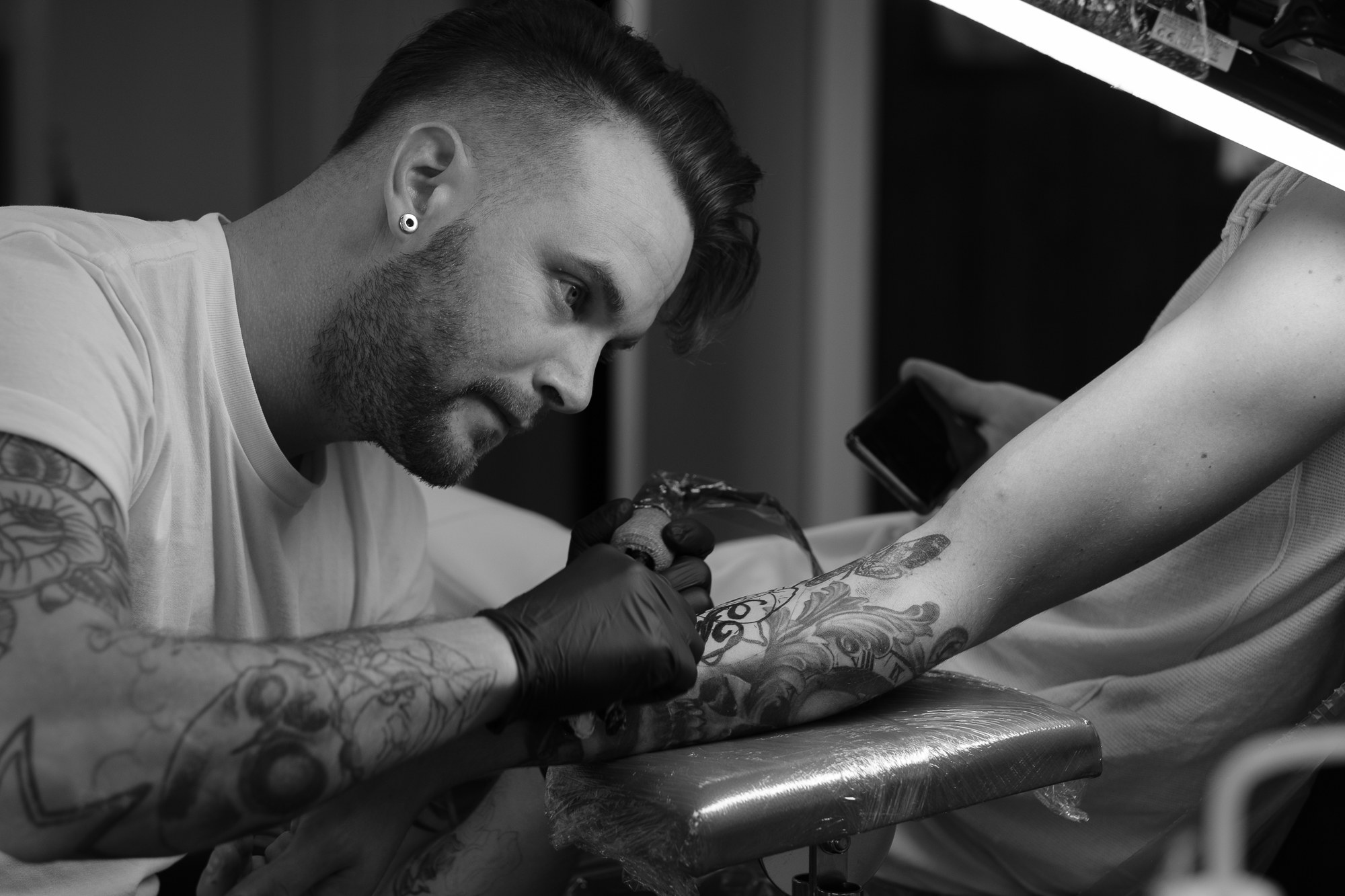 Mitch Stoot, Tattoo artist